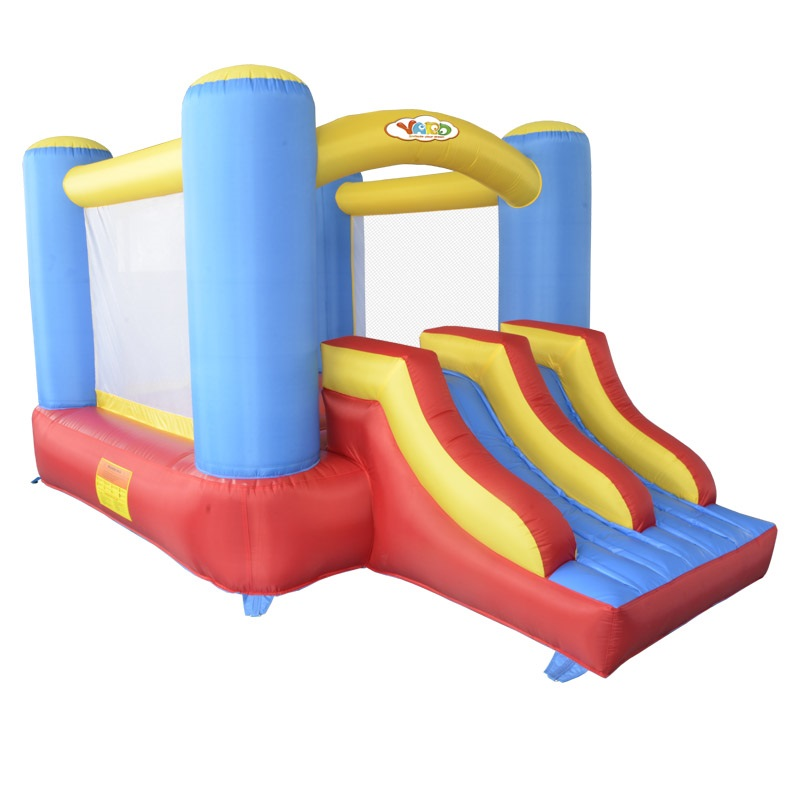 Hot Sale Inflatable Bouncer House With Slide Jumping Castle For Children  6208